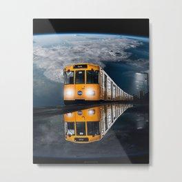 Nasa Train Manipulation Metal Print