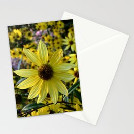 la vie jaune  Stationery Cards