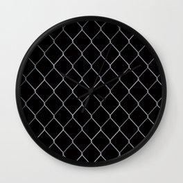 Black Chainlink Wall Clock
