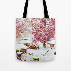 SNOW DAY - 015 Tote Bag