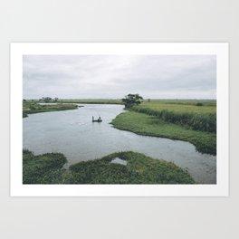 Fishing Mozambique Art Print