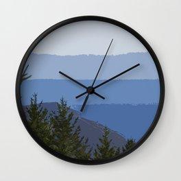 Dipsea Trail Wall Clock