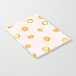 Orange watercolor Notebook