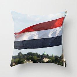 if it ain't Dutch... Throw Pillow