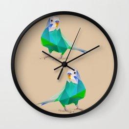 Parakeet Wall Clock