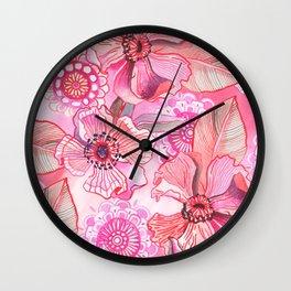 Lil' Garden Party Wall Clock