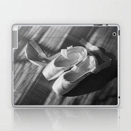Ballet dance shoes. Black and White version. Laptop & iPad Skin