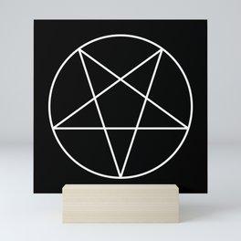 Inverted Pentagram Mini Art Print