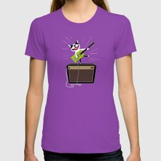 Boogie on Gretsch Ultraviolet X-LARGE Womens Fitted Tee