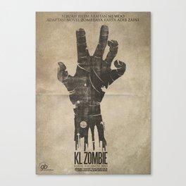 KL Zombie Fan Art Poster Canvas Print