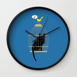 Revenge is Tweet Wall Clock