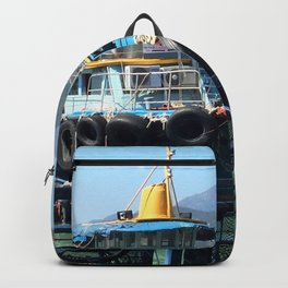 Boats and bicycles Backpack