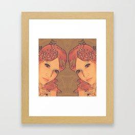 Kristin Framed Art Print