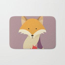 Red Fox Bath Mat