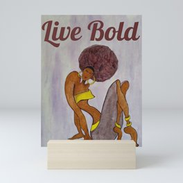 Live Bold Mini Art Print