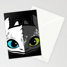 Toothless Night Light Fury Stationery Cards