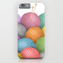 So Much Yarn iPhone Case