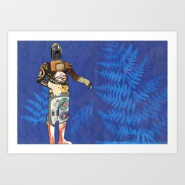 You will be reclaimed in time Art Print