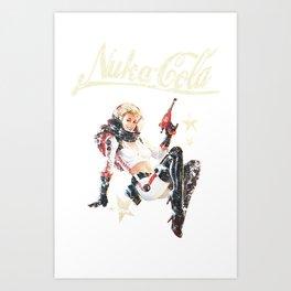 Nuka-Cola Pinup Art Print
