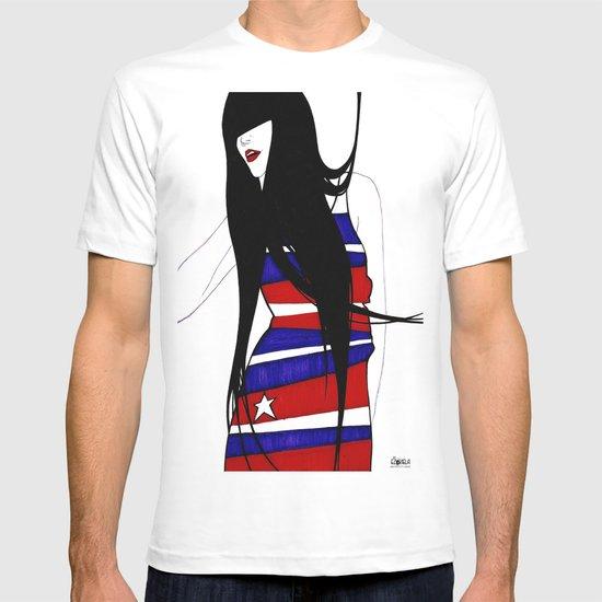miss America missing in America  T-shirt