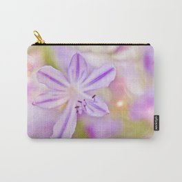 Summer dance - macro  floral photography Carry-All Pouch