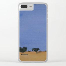alentejo naif Clear iPhone Case