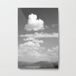 Cloud Coverage Metal Print
