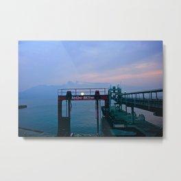 tarumizu ferry terminal Metal Print