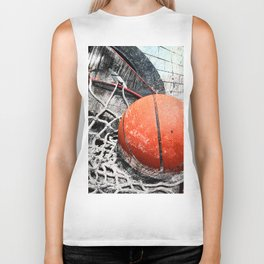 Modern Basketball Art 8 Biker Tank
