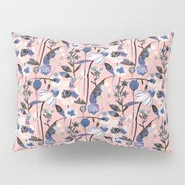 Pastel spring flowers pattern Pillow Sham