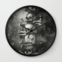 palestine Wall Clocks featuring Once Were Warriors II. by Dr. Lukas Brezak