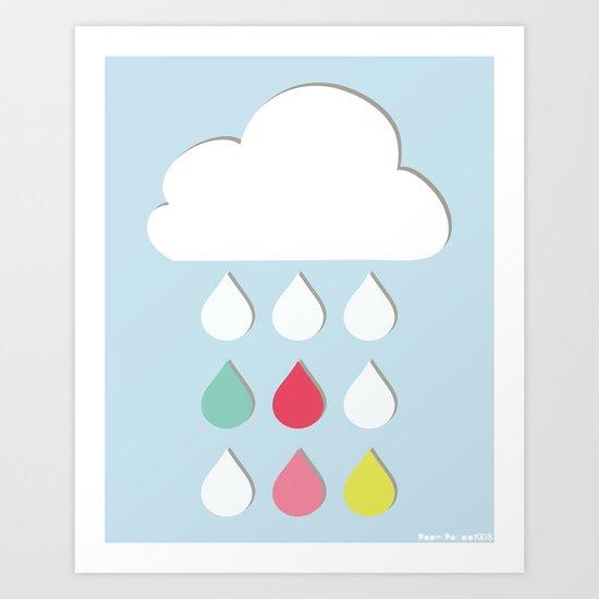Sweet Rain Art Print