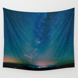 Desert Summer Milky Way Wall Tapestry