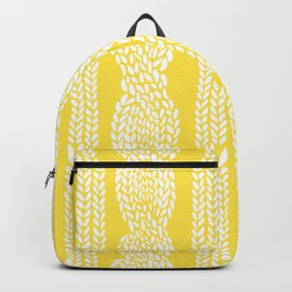 Cable Row Yellow Backpack