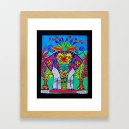 Indian Elephant by Anthony Davais Framed Art Print