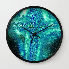 died for you sins Wall Clock