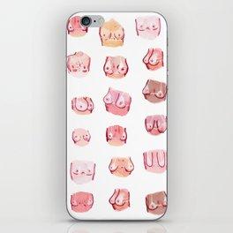 summer tits iPhone Skin