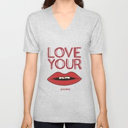 Love your passion #1 Unisex V-Neck