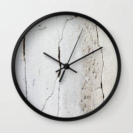 Cracks in Concrete rustic decor Wall Clock