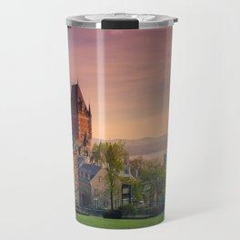 Dusk in Québec City Travel Mug
