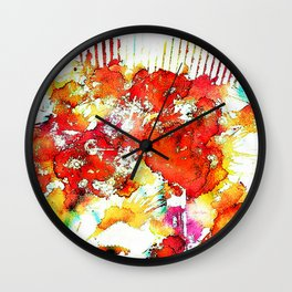 She's a Molotov Cocktail Wall Clock