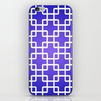 1d iPhone & iPod Skins featuring Pattern 1D by Robin Curtiss