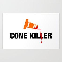 Cone Killer v2 HQvector Art Print