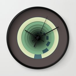 Traveling In Circles Wall Clock