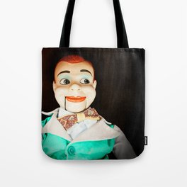 Creepy Dummy Tote Bag