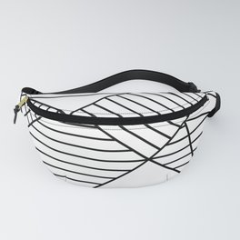 Whackadoodle White and black Fanny Pack