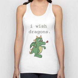 I wish dragons Unisex Tank Top