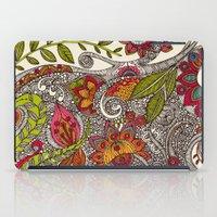 valentina iPad Cases featuring Random Flowers by Valentina Harper