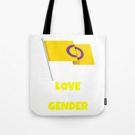 Love is Genderless Tote Bag