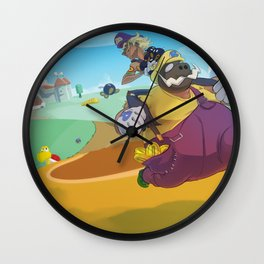 The Junkboys Take the Mushroom Kingdom Wall Clock